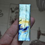 Материалы для творчества handmade. Livemaster - original item Labradorite. Cabochon 67 X 22 X 6. Handmade.