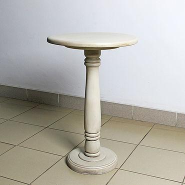 Мебель ручной работы. Ярмарка Мастеров - ручная работа Кофейный столик круглый Moko, кофейный столик из дерева,чайный столик.. Handmade.