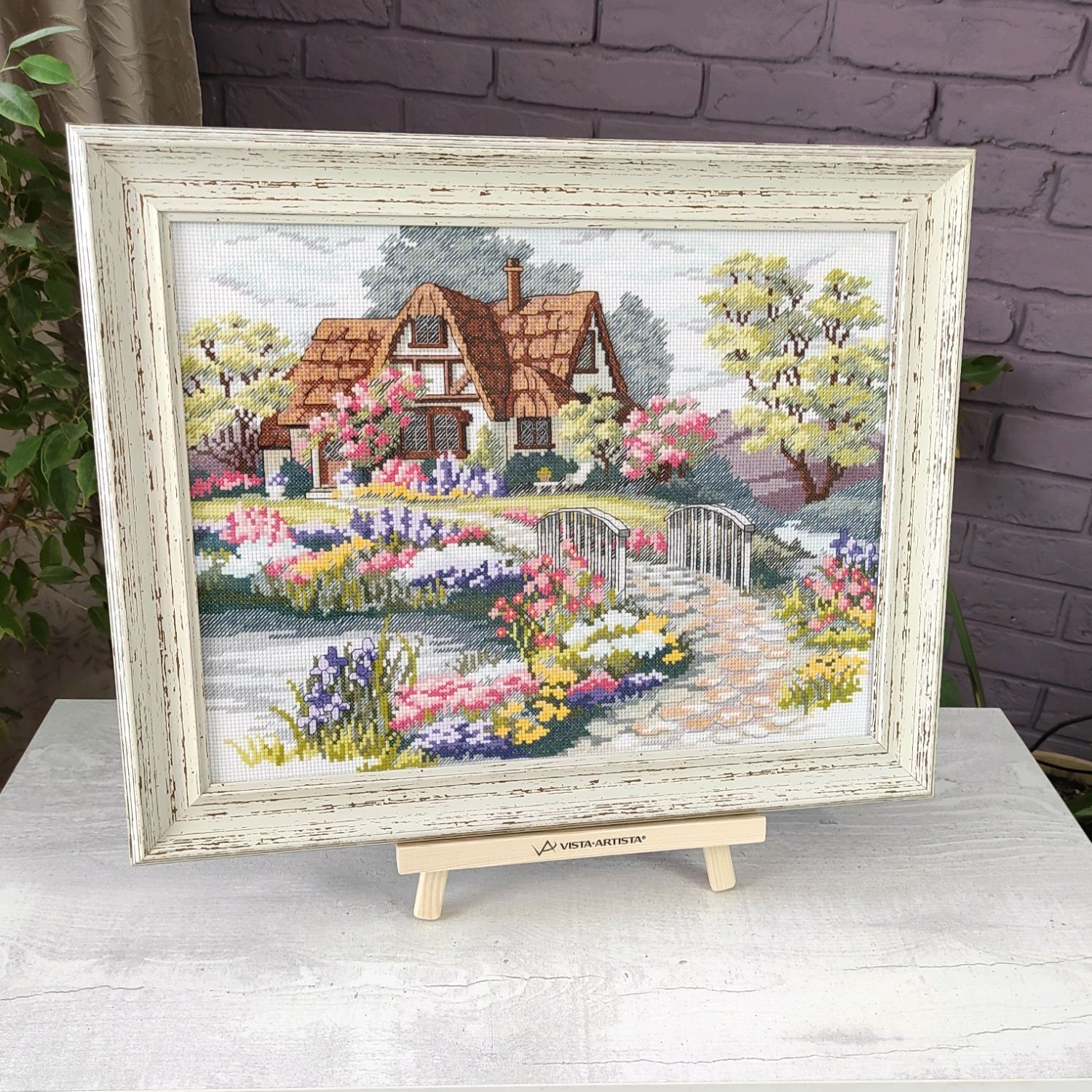 Painting embroidered cross in the dream House cross stitch, Pictures, Chelyabinsk,  Фото №1