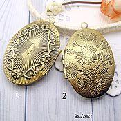 Материалы для творчества handmade. Livemaster - original item Pendant locket for photo Art.MF11. Handmade.