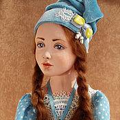 Куклы и игрушки ручной работы. Ярмарка Мастеров - ручная работа будуарная кукла Берта. Handmade.