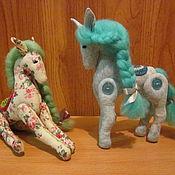 Куклы и игрушки handmade. Livemaster - original item Funny horse. Handmade.