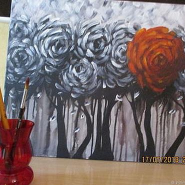 Картины и панно ручной работы. Ярмарка Мастеров - ручная работа Аллегория. Handmade.