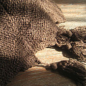 Для дома и интерьера ручной работы. Ярмарка Мастеров - ручная работа Плед Темный шоколад. Handmade.