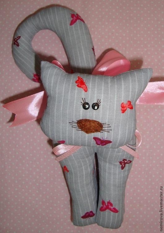 Куклы Тильды ручной работы. Ярмарка Мастеров - ручная работа. Купить Кот Тильда. Handmade. Серый, текстильный кот, игрушки