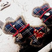 Украшения ручной работы. Ярмарка Мастеров - ручная работа броши: звери в клетку. Handmade.