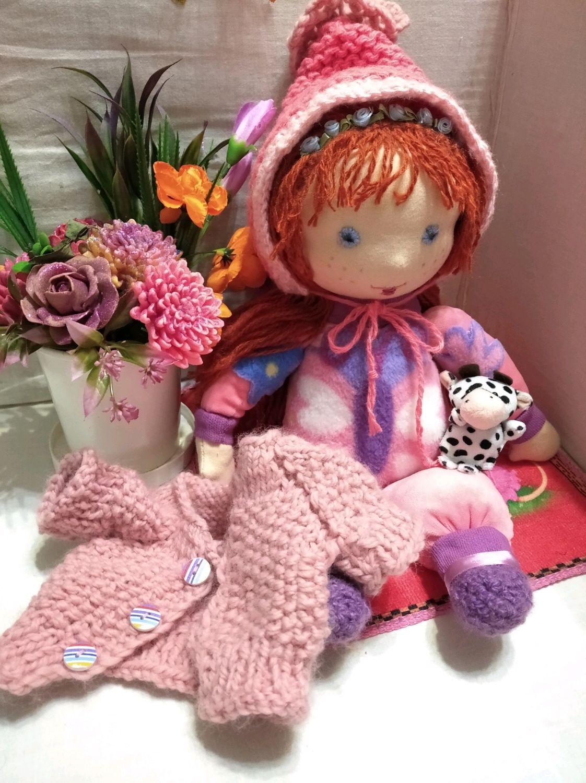 Вальдорфская кукла Яночка, Вальдорфские куклы и звери, Новосибирск,  Фото №1