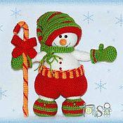 Подарки к праздникам handmade. Livemaster - original item snowman gnomus. Handmade.