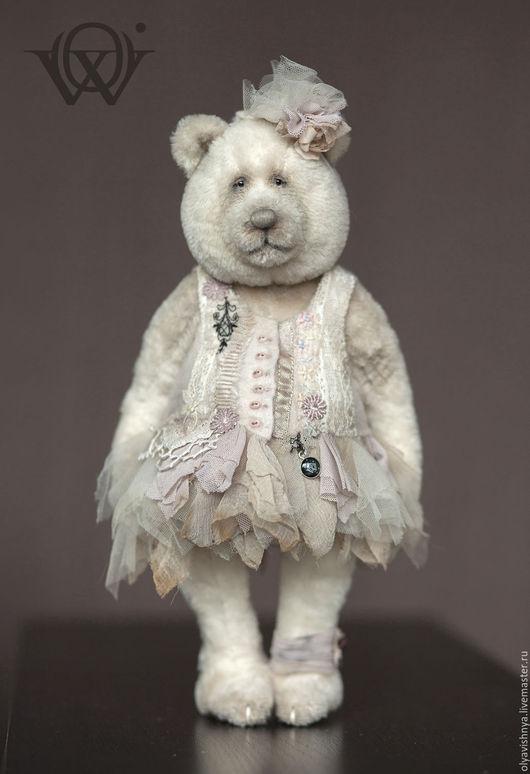 Мишки Тедди ручной работы. Ярмарка Мастеров - ручная работа. Купить Бетти (Betty) мишка тедди. Handmade. Белый, ooak