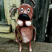 Подарки к праздникам ручной работы. Ярмарка Мастеров - ручная работа Собака.. Пес из мультика.... Handmade.