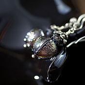 """Украшения ручной работы. Ярмарка Мастеров - ручная работа Серьги лэмпворк """"Волшебная пыльца"""". Handmade."""