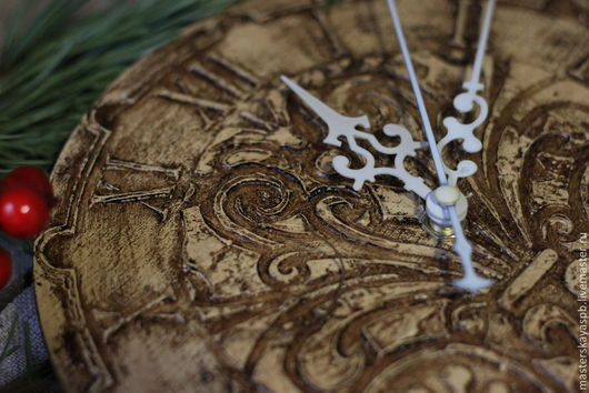 """Часы для дома ручной работы. Ярмарка Мастеров - ручная работа. Купить Часы """"с чердака"""". Handmade. Часы настенные, фактура"""
