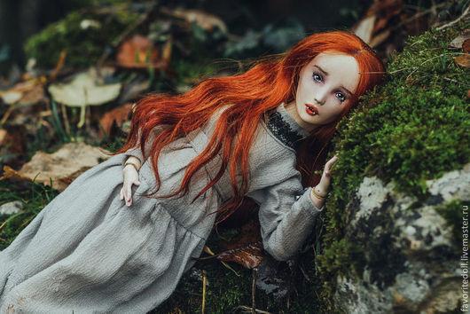 Коллекционные куклы ручной работы. Ярмарка Мастеров - ручная работа. Купить Шарнирная кукла Амелия. Handmade. Шарнирная кукла, favoritedoll