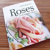 Книга по вышивке лентами Roses: in silk and organza ribbon