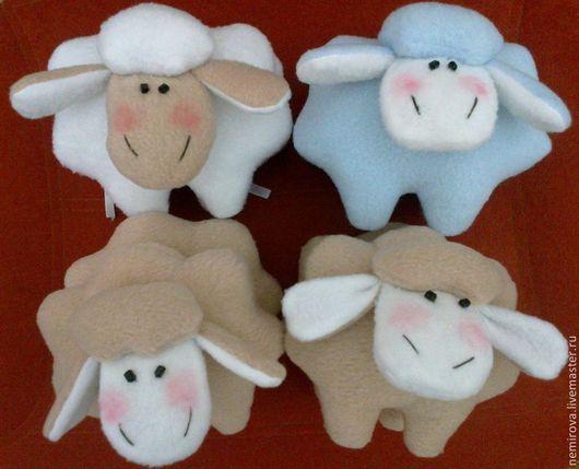 Игрушки животные, ручной работы. Ярмарка Мастеров - ручная работа. Купить Овечка Тильда. Handmade. Голубой, овечка в подарок