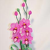 Цветы и флористика ручной работы. Ярмарка Мастеров - ручная работа Орхидея Виолетта. Handmade.
