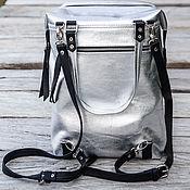 Сумки и аксессуары handmade. Livemaster - original item Backpack genuine leather . Leather rucksack. Handmade.