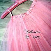 Юбка ручной работы. Ярмарка Мастеров - ручная работа Детская юбка из фатина цвет Фламинго. Handmade.
