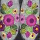 Варежки, митенки, перчатки ручной работы. Варежки с вышивкой  Amore. Ludmila Batulina (milenaleoneart). Ярмарка Мастеров. Варежки ручной работы