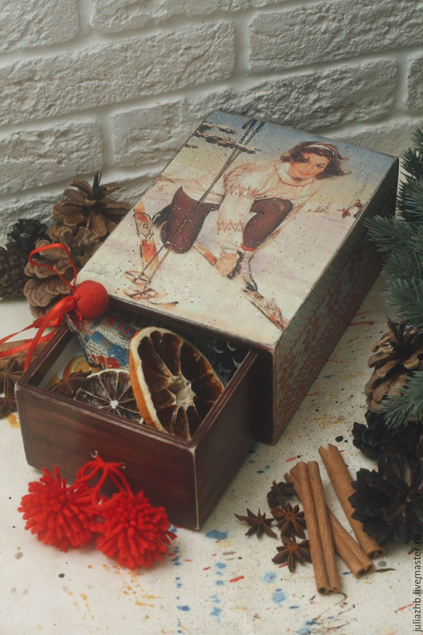 """Mulled wine (Gluhwein) kit   - """"Winter in the Alps"""", Gift Boxes, Sergiev Posad,  Фото №1"""