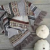 Аксессуары handmade. Livemaster - original item Woolen tweed scarf. Handmade.
