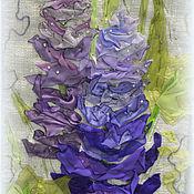 """Картины и панно ручной работы. Ярмарка Мастеров - ручная работа Панно """"Любимые цветы"""".. Handmade."""