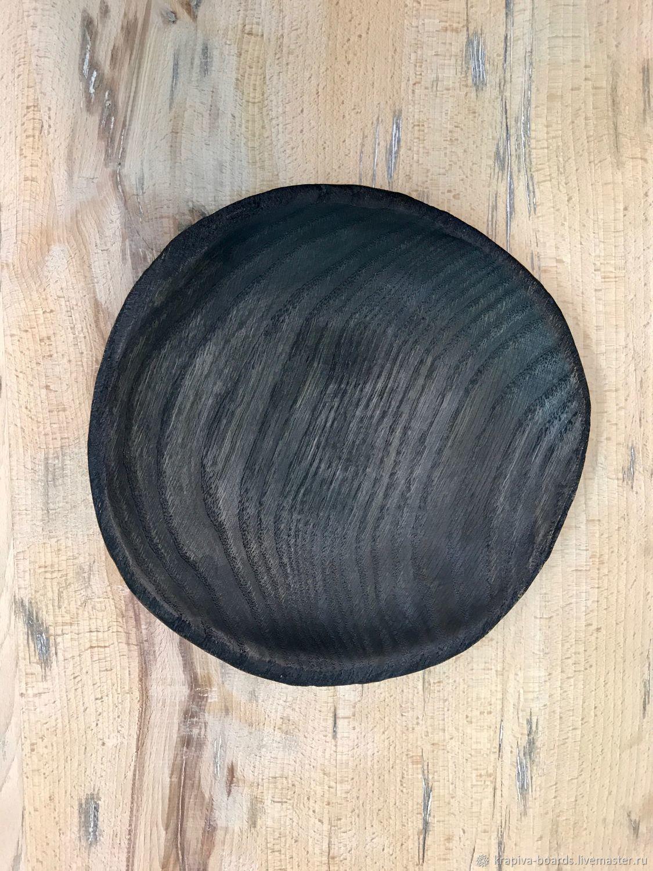 Тарелка Мореный дуб, Утварь, Смоленск,  Фото №1