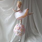 Куклы и игрушки handmade. Livemaster - original item Ballerina musical globe. Handmade.