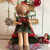 Куклы и игрушки ручной работы. Ярмарка Мастеров - ручная работа Интерьерная текстильная кукла Принцесса на горошине). Handmade.