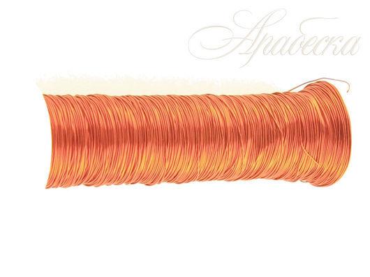 Проволока медная красного цвета 0.18мм EFCO (Германия) 25м/упак