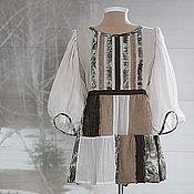 """Одежда ручной работы. Ярмарка Мастеров - ручная работа Блуза  """"Дусенька"""". Handmade."""