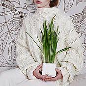 Одежда ручной работы. Ярмарка Мастеров - ручная работа Свитер из мериноса. Handmade.