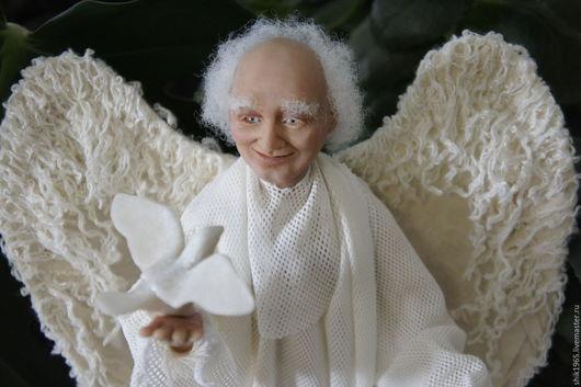 ` Ангел хранитель` - авторская кукла Шавер Ирины.