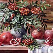 Картины и панно ручной работы. Ярмарка Мастеров - ручная работа Два вкуса красного. Handmade.