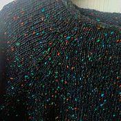Одежда ручной работы. Ярмарка Мастеров - ручная работа СКИДКА-10%Джемпер твидовый Звездное небо. Handmade.