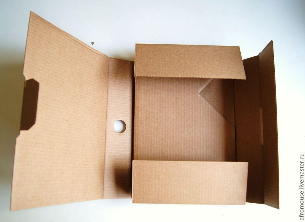 Как с картона сделать коробку для 153