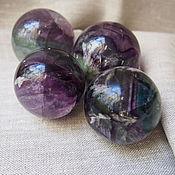 Материалы для творчества handmade. Livemaster - original item Ball fluorite in stock. Handmade.