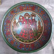 Русский стиль handmade. Livemaster - original item Deep dish