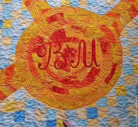 """Текстиль, ковры ручной работы. Ярмарка Мастеров - ручная работа. Купить Лоскутное покрывало """"История одной любви"""". Handmade. Разноцветный"""