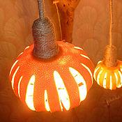 Для дома и интерьера ручной работы. Ярмарка Мастеров - ручная работа Эко-лампа Ложный огонь. Handmade.