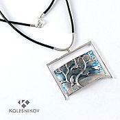Украшения handmade. Livemaster - original item Necklace Spring has come. Silver.. Handmade.