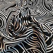 Материалы для творчества ручной работы. Ярмарка Мастеров - ручная работа Крепдешин натуральный. Handmade.