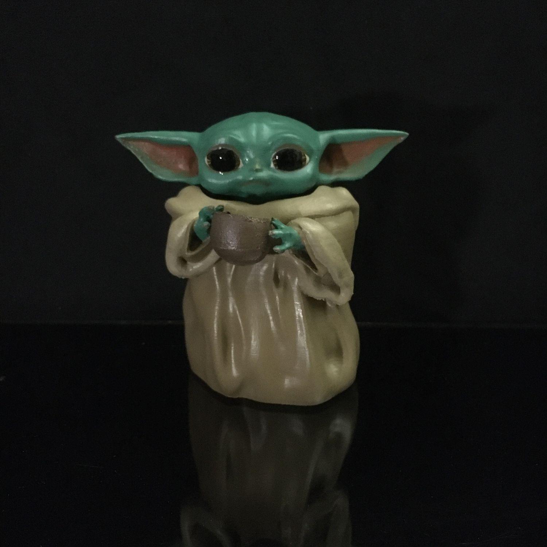 Baby Yoda Малыш Йода Star Wars Звездные войны Мандалорец, Статуэтки, Тольятти,  Фото №1