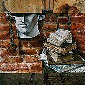 """Картины и панно ручной работы. Ярмарка Мастеров - ручная работа """"Главное в Антиное..."""" Холст на подрамнике, масло.. Handmade."""