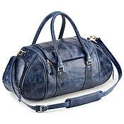 Сумки и аксессуары handmade. Livemaster - original item Leather road sports bag