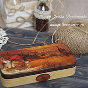 Подарки к праздникам handmade. Livemaster - original item Money box Toscana. Handmade.