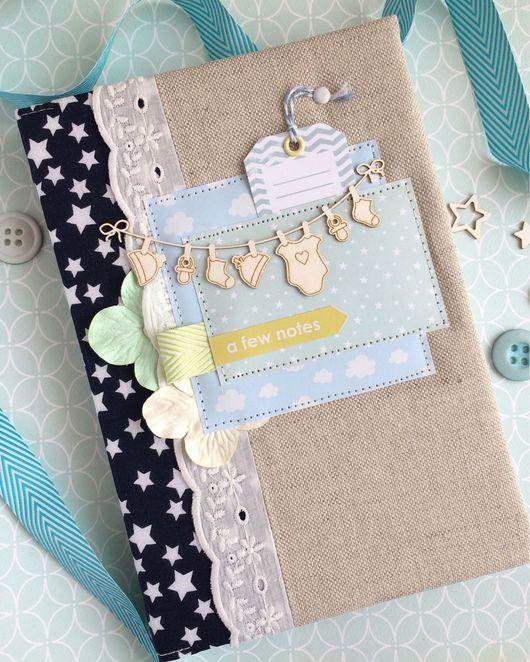 Подарки для новорожденных, ручной работы. Ярмарка Мастеров - ручная работа. Купить Бэби-бук от 0 до 6 лет. Handmade. Бэбибук
