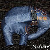 Для дома и интерьера ручной работы. Ярмарка Мастеров - ручная работа Подушка-игрушка с карманом. Handmade.