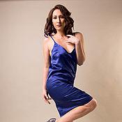 """Одежда ручной работы. Ярмарка Мастеров - ручная работа Платье """"Николь"""",бельевой стиль,платье из шелка,платье повседневное. Handmade."""