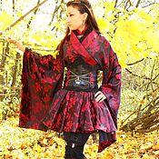 Одежда ручной работы. Ярмарка Мастеров - ручная работа костюм Осенняя хризантема. Handmade.